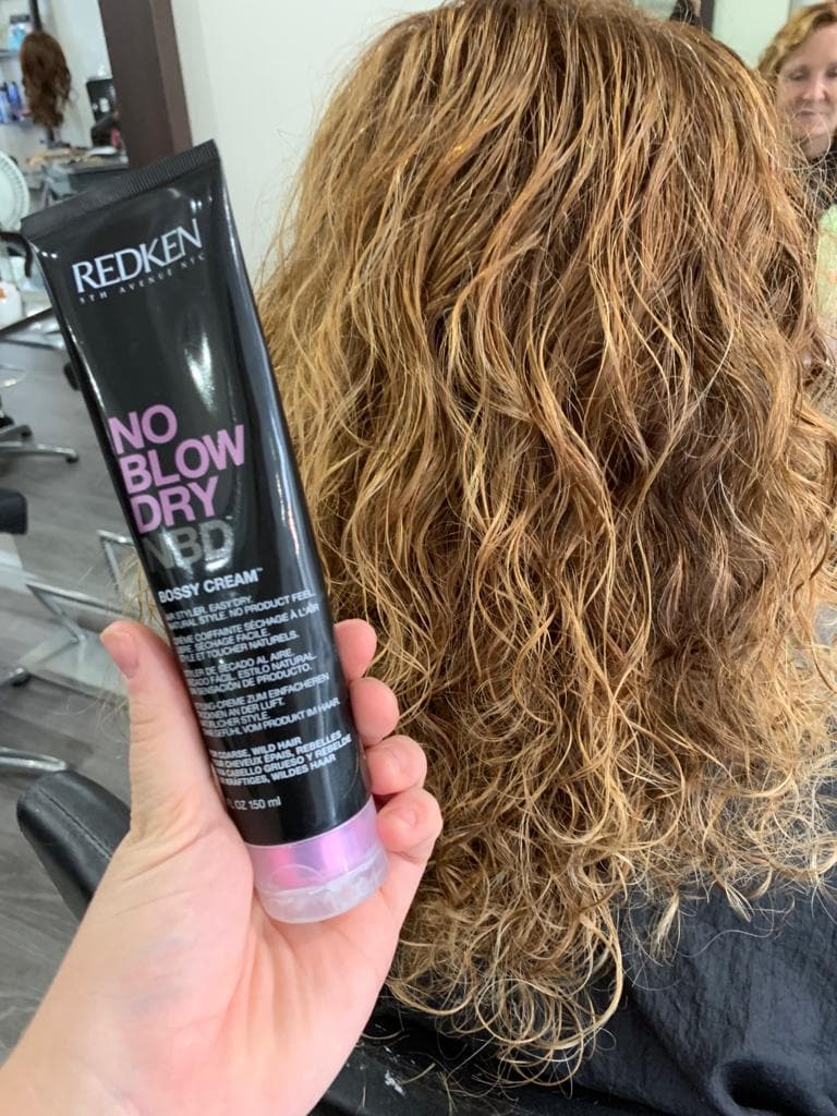 No Blow Dry Redken