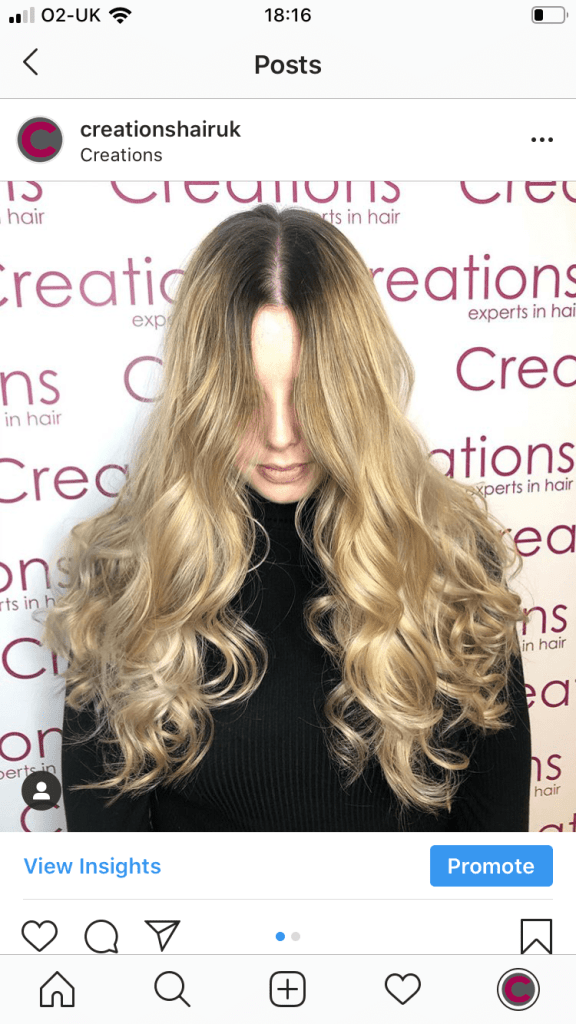 Stunning Blonde Ombre Hair