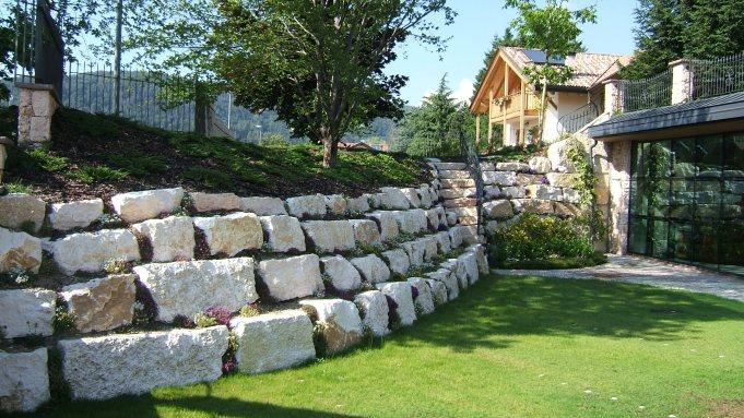 Un muro non deve per forza essere solo cemento grigio.