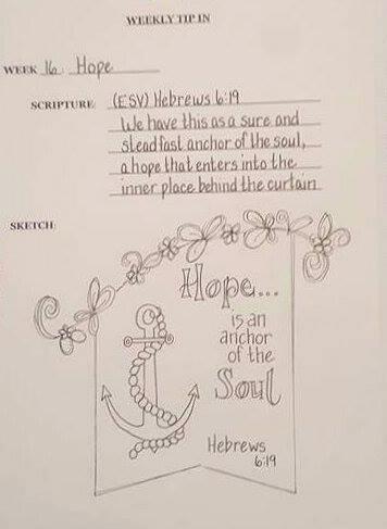 #16 Hope Sketch