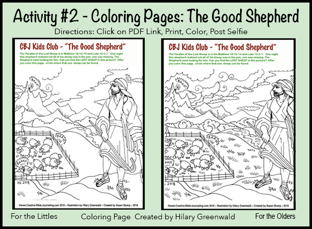 #2 Coloring Pages Double