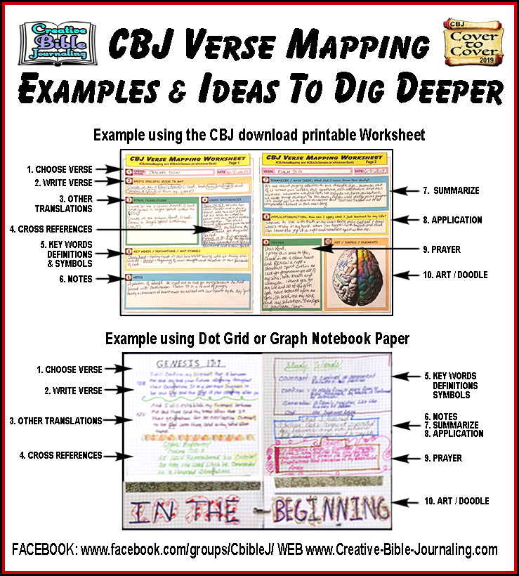picture regarding Verse Mapping Printable identified as August 2019 Verse Mapping Innovative-Bible-Journaling