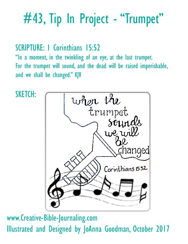 #43 Trumpet sketch