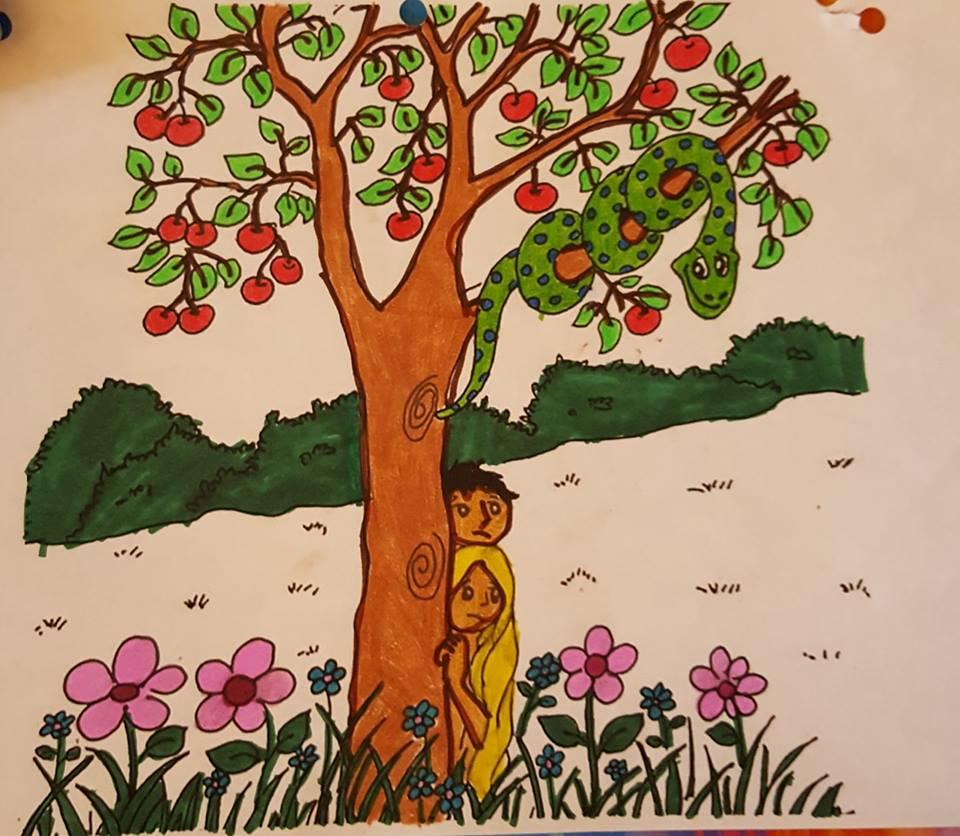 AE Malachi Coloring Page GARDEN