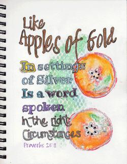 A Photo of Proverbs 25:11
