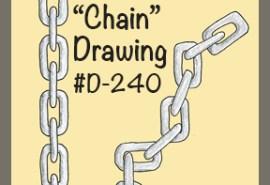 #D-240 Chain SQUARE
