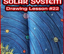 D19-22 Solar System SQUARE