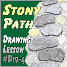 #D19-4 Stony Path