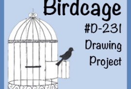 Drawing Birdcage SQUARE