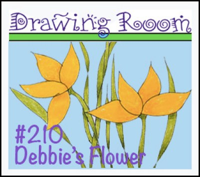 Drawing Debbies Flower Square