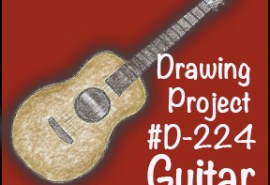 Drawing Guitar SQUARE