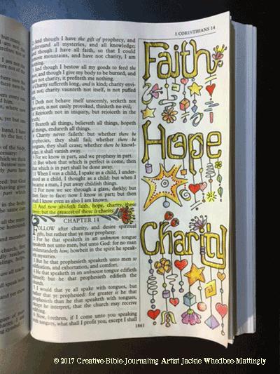 KJV of I Corinthians 13:13