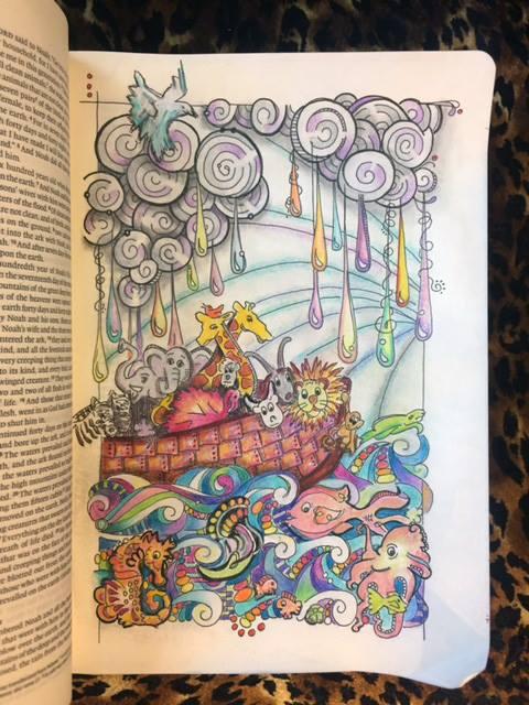 Noahs Ark Jackie Colored Interleaved