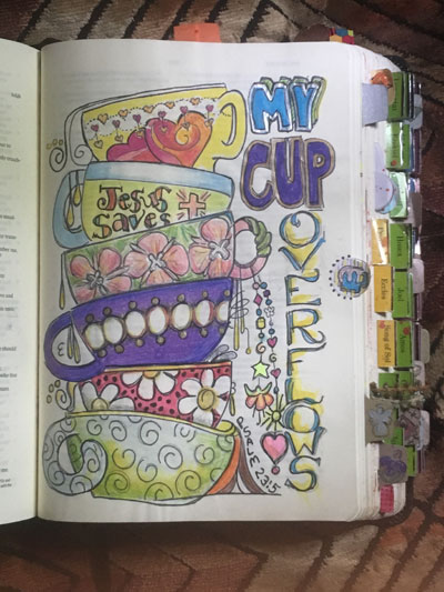 Image of Psalms 23 My Cup Runneth over