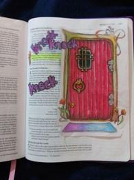 Rev Example Bible Door Closed