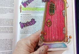 Rev Example Bible Door opened