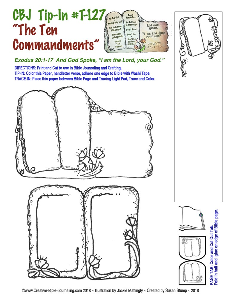 #T-127 Ten Commandments