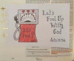 CBJ Tip-In Project, Fuel Up With God In Bible