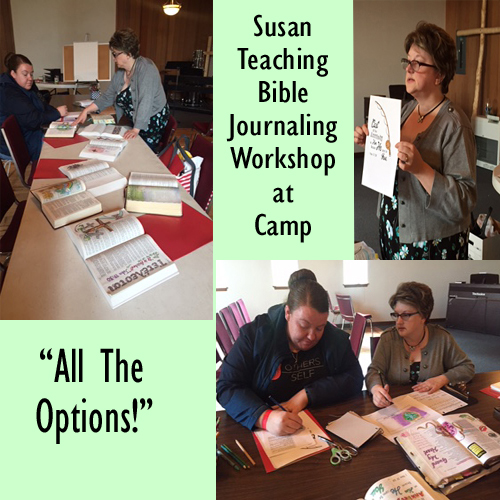 Susan Teaches Bible Journaling