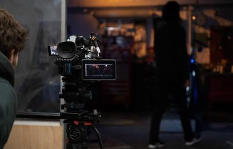 Behind The Scenes Filmkamera Harley Davidson