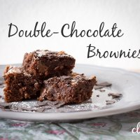 Gebacken: Double-Chocolate Brownies