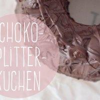 Schoko-Splitter-Kuchen - perfekt für übrig gebliebene Weihnachtsmänner
