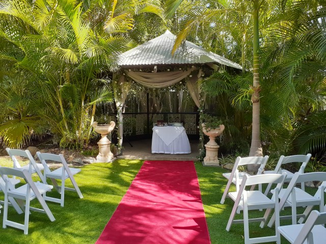 Shangri-La Gardens wedding venue in Brisbane