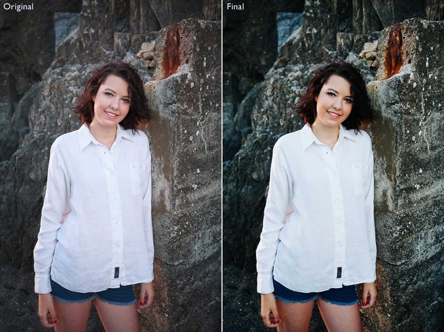 Comparison between two natural light photos processed in Lightroom using Develop Presets