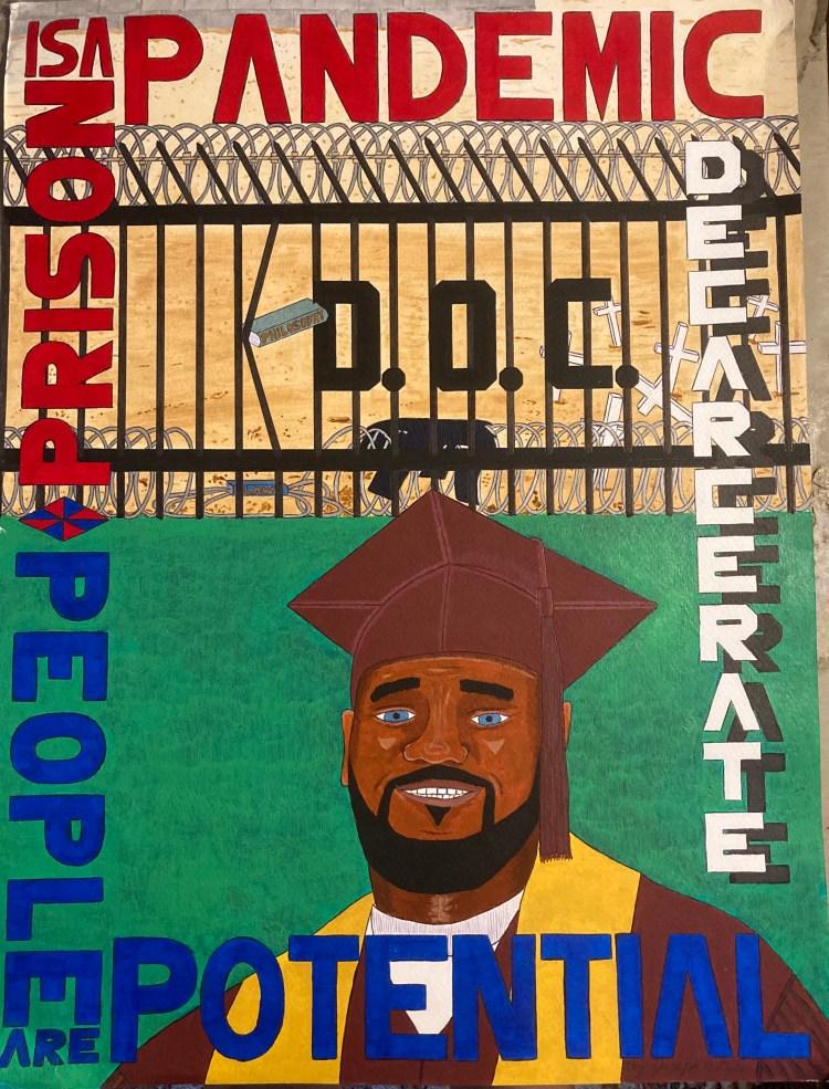 Prison is a Pandemic by Joseph Dole