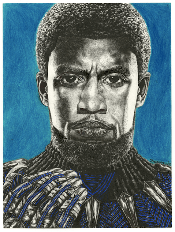Freedom is Worth Dying For by Dominic Newsome (Black Panther)