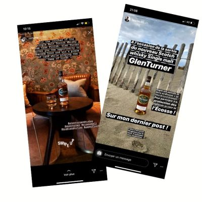 Glen Turner Campagne e-RP influenceurs Game of Lords