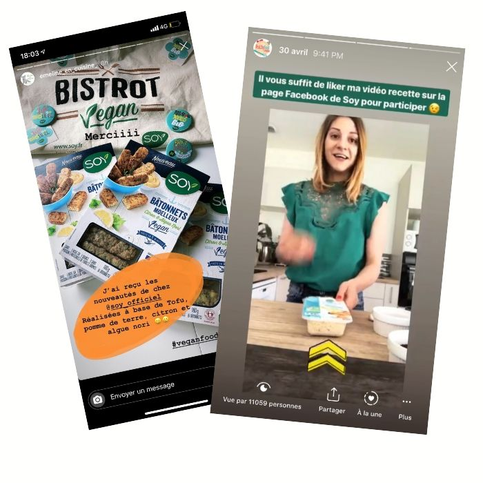 Soy campagne influenceurs 2019 | Publications de Emeline en cuisine & Healthyfood creation