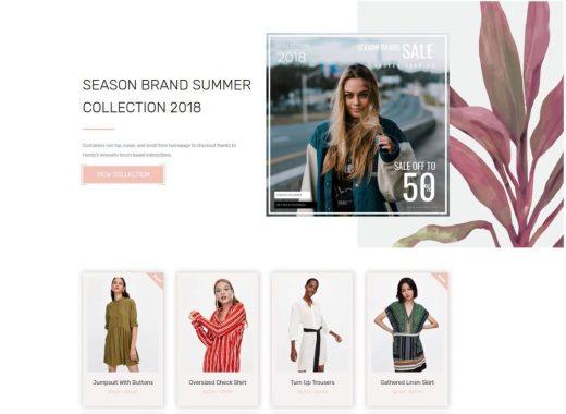 Free Fashion Wordpress