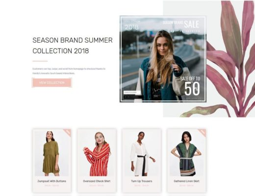 Free Fashion Wordpress
