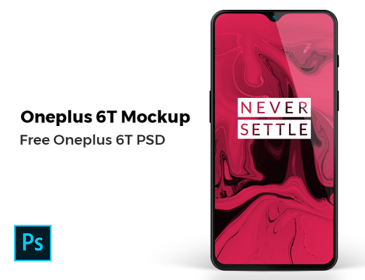 One Plus 6T PSD Mockup