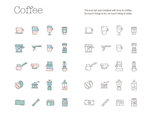 Coffeecons Icon Set