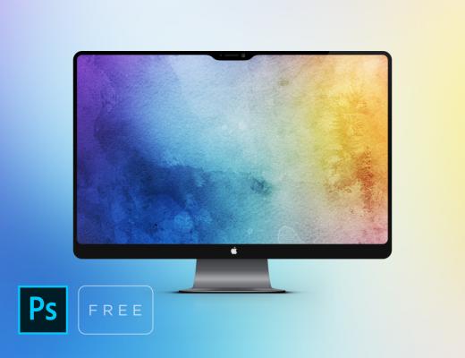iMac Pro Free Mockup