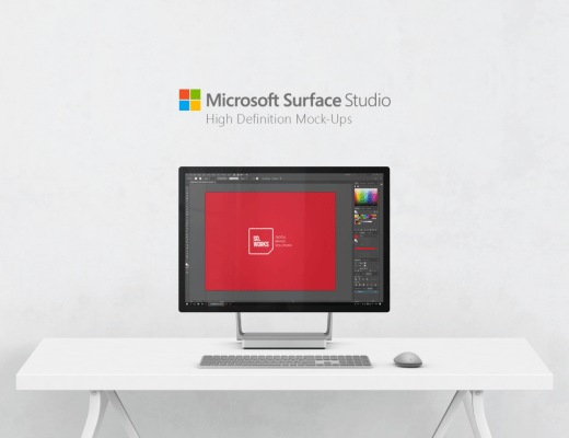 Microsoft Surface Mockup