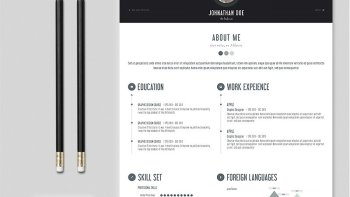 Creative Personal Resume