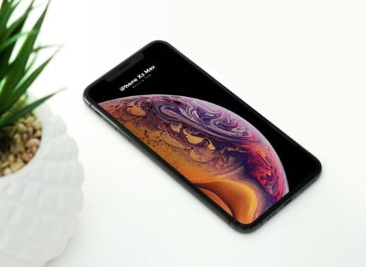 Free Minimal Iphone XS Max Mockup