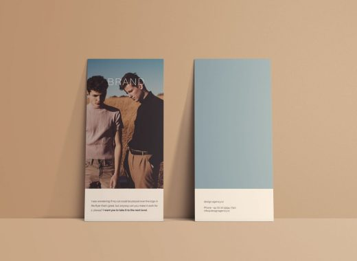 Vertical Flyer Mockup