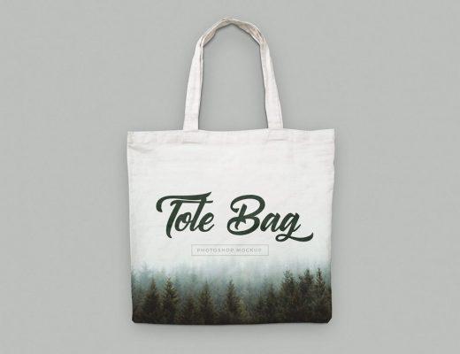 Canvas Tote Bag Mockups