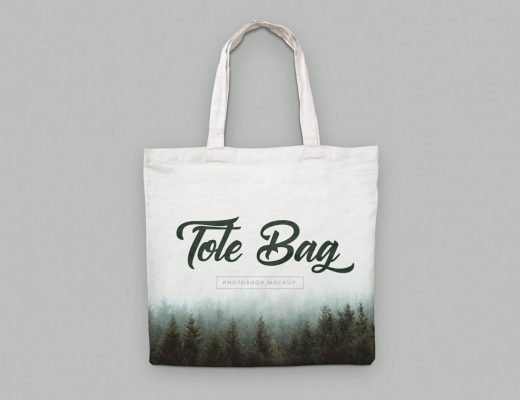 Canvas Tote Bag Mockups