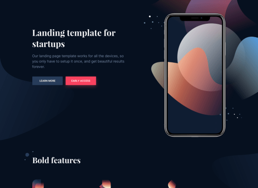 Laurel Landing Page Template