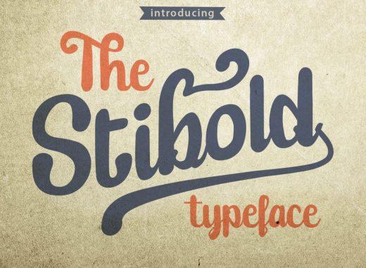 Free Stibold Typface
