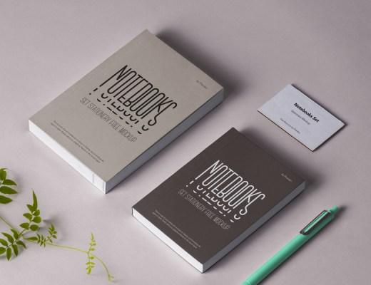 free branding kit mockup PSD