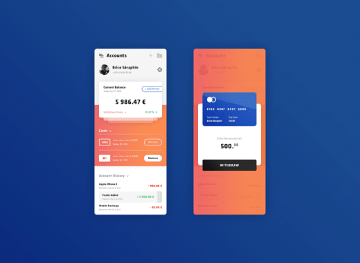 free app graphic design UI kit