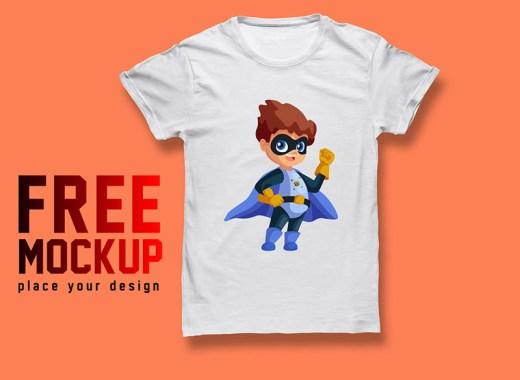 T shirt Mockup Free PSD