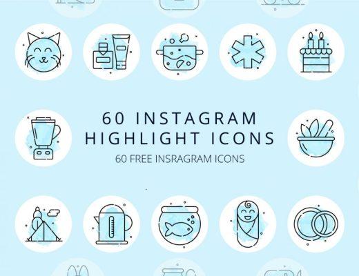 60 Instagram Highlight Icons