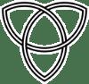 A simple triquetra symbol / Public Domain